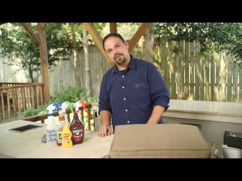 How to clean Sunbrella outdoor cushions | UltimatePatio.com