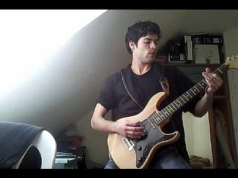 Bleeding Through Love Lost In a Hail Of Gunfire guitar cover