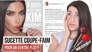 Sucette coupe-faim de Kim Kardashian: ventre plat ou arnaque?   AVIS NUTRITIONNISTE PERTE DE POIDS