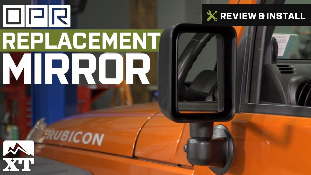 Jeep Wrangler Replacement Mirror 2007 2016 Jk Review