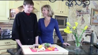 "Chef Dave's ""ham & Cheese"" Appetizer Recipe"