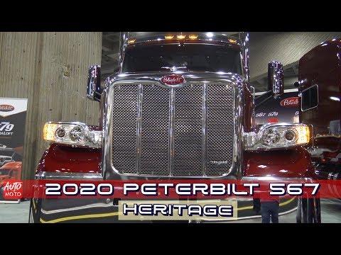 2020 Peterbilt 567 Heritage 72'' Ultracab Sleeper - Exterior And Interior - ExpoCam 2019