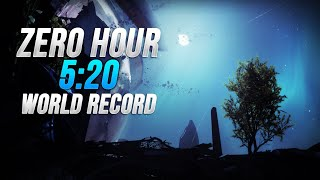 Zero Hour WR Speedrun [5:20] by Silimar