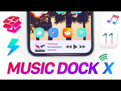iOS 11 Jailbreak: Music Controls on your Dock! (Tweak of the Day)