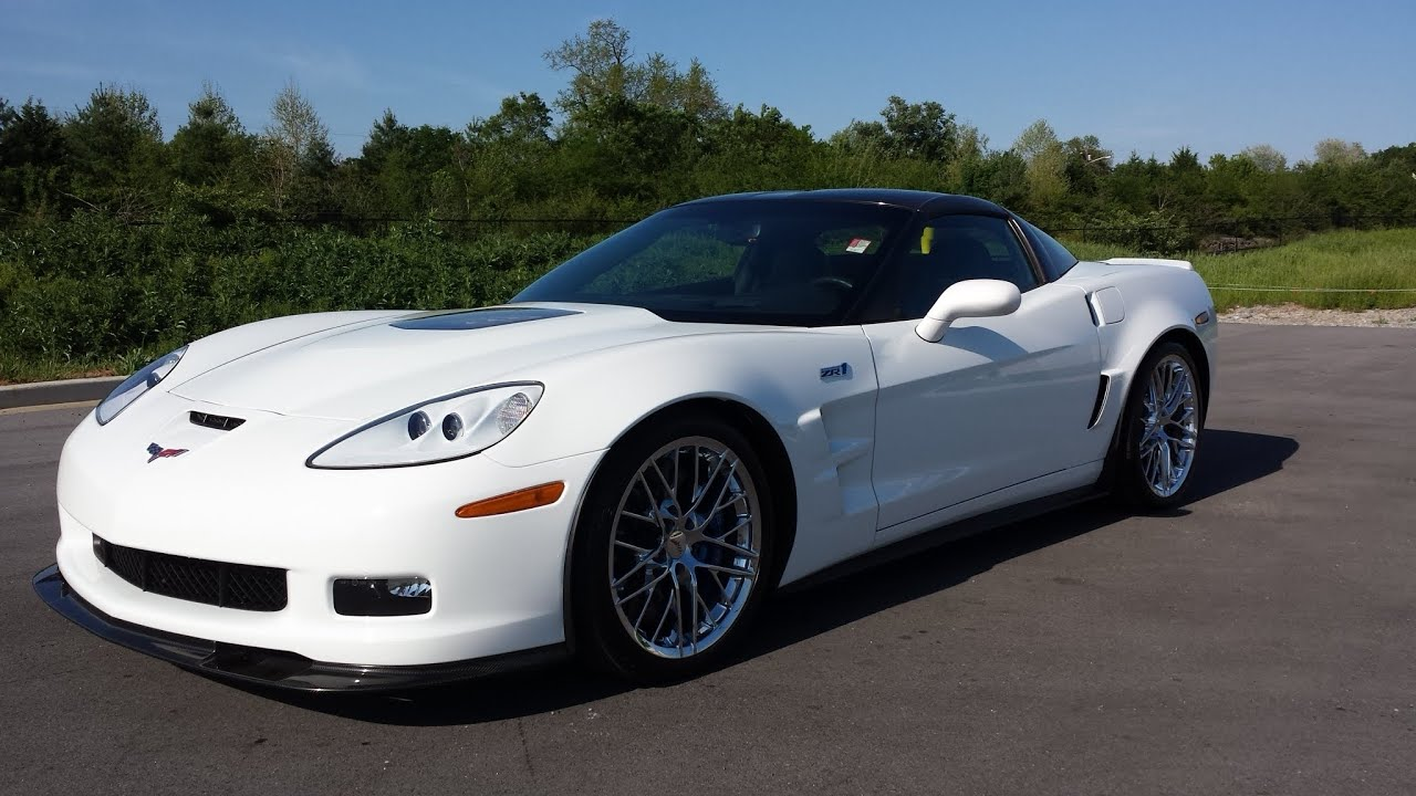 Sold 2010 Chevrolet Corvette Zr1 Coupe Artic White 3700