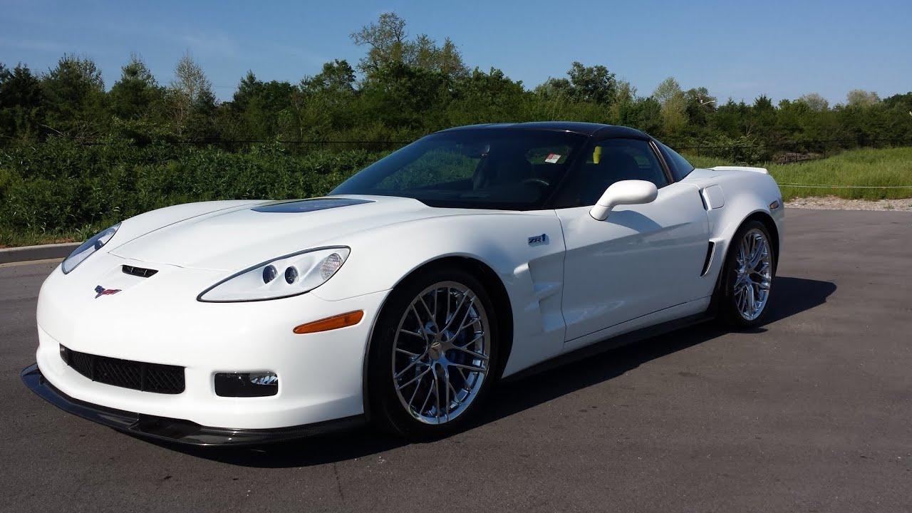 sold 2010 chevrolet corvette zr1 coupe artic white 3700 miles call griz youtube. Black Bedroom Furniture Sets. Home Design Ideas