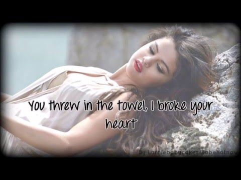 Selena Gomez - Camouflage (lyrics on screen)