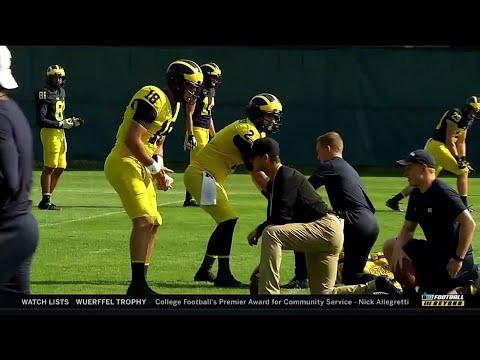 BTN Bus Tour: Jim Harbaugh | Michigan | Big Ten Football