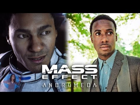 Mass Effect Andromeda  Voice Actor, Gary Carr as Liam  BIOWARE VOICES