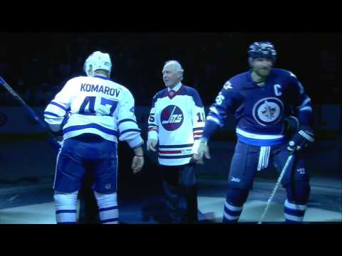Oct.19/2016   Toronto Maple Leafs - Winnipeg Jets