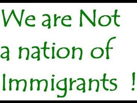 The nation of immigrants