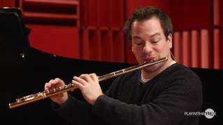 Daphnis et Chloe by Ravel, online flute lesson with Emmanuel Pahud at www.playwithapro.com