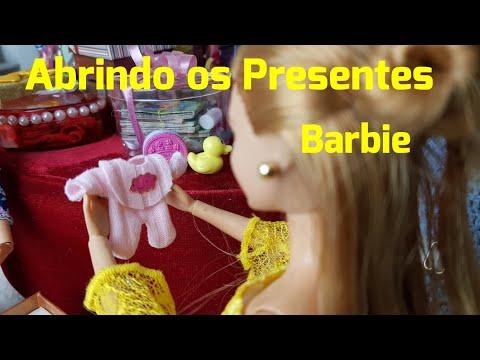 Novelinha da Barbie| Abrindo os Lindos Presentes | Episódio 33