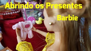 Barbie's Novel Episode / 33 Opening the Gifts