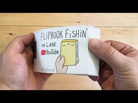 100k Subscribers Silver Play Button Flipbook (Flipbook Fishin' on Lake Youtube)