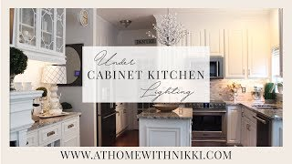Easy Under Cabinet Kitchen Lighting