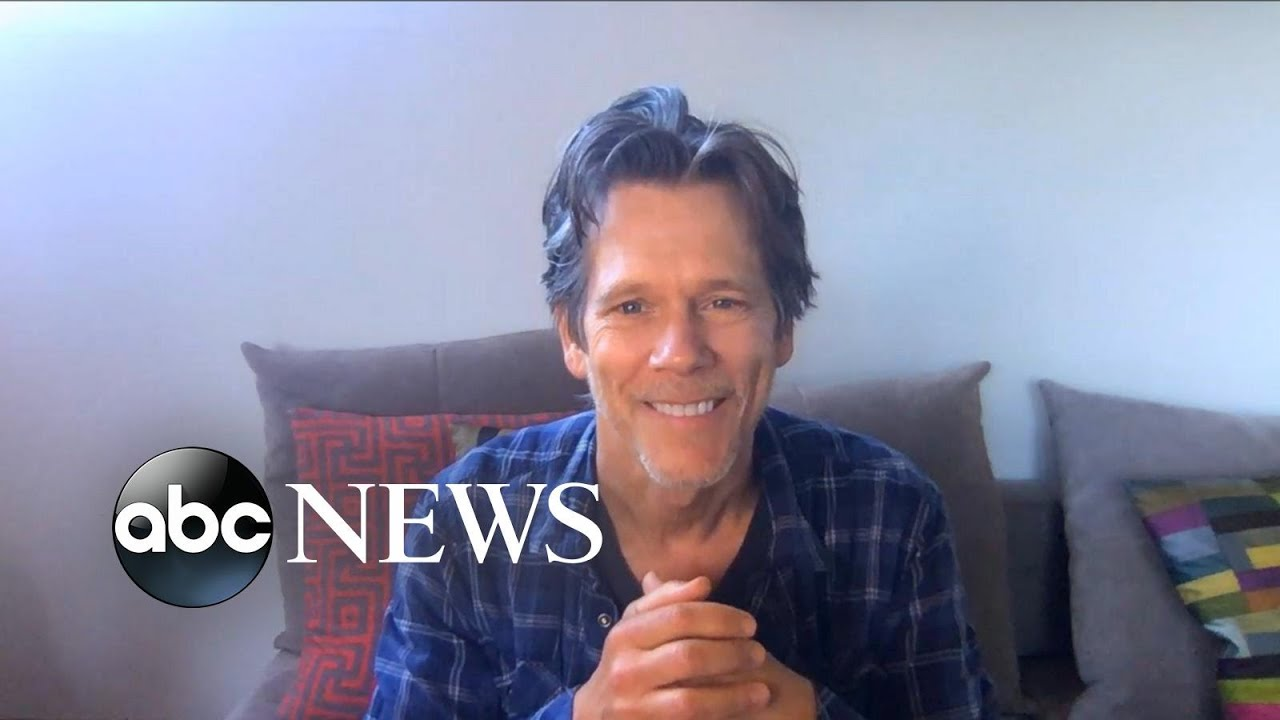 Kevin Bacon calls on fans to put their hands together for front-line workers