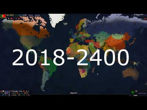 Age of Civilizations 2 Timelapse 2018-2400 Years