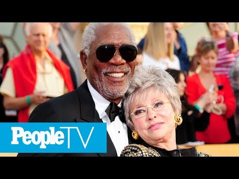 Rita Moreno Teases Funny Morgan Freeman Story That  'Don't Know' At 2018 SAG Awards  PeopleTV