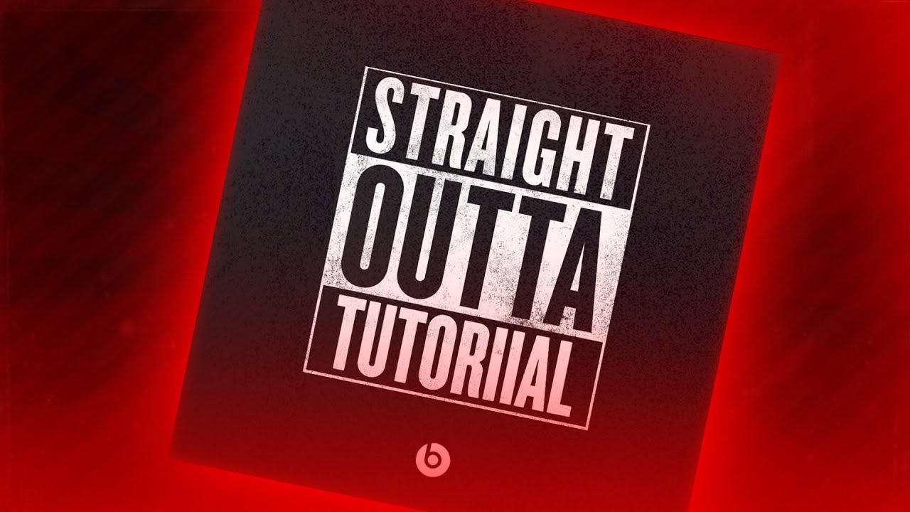 How To Make The Straight Outta Compton Picture Meme For Instagram