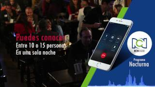 Speed Dating in colombia Entrevista Nocturna RCN Radio