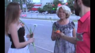 Алчевск Украина 2013  День Женственности Флэшмоб в Алчевске