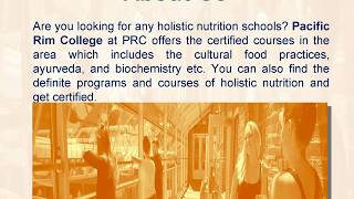 Get Prepare Yourself Holistic Nutrition Training
