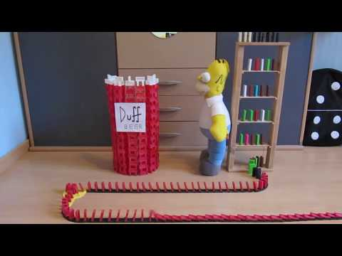 Homer Simpson Duff Doh mino 2010