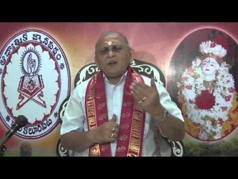 Mundakopanishad : Day 6 : 1st Mundakam - 1st Khandam - Mantram 7 : Sri Chalapathirao