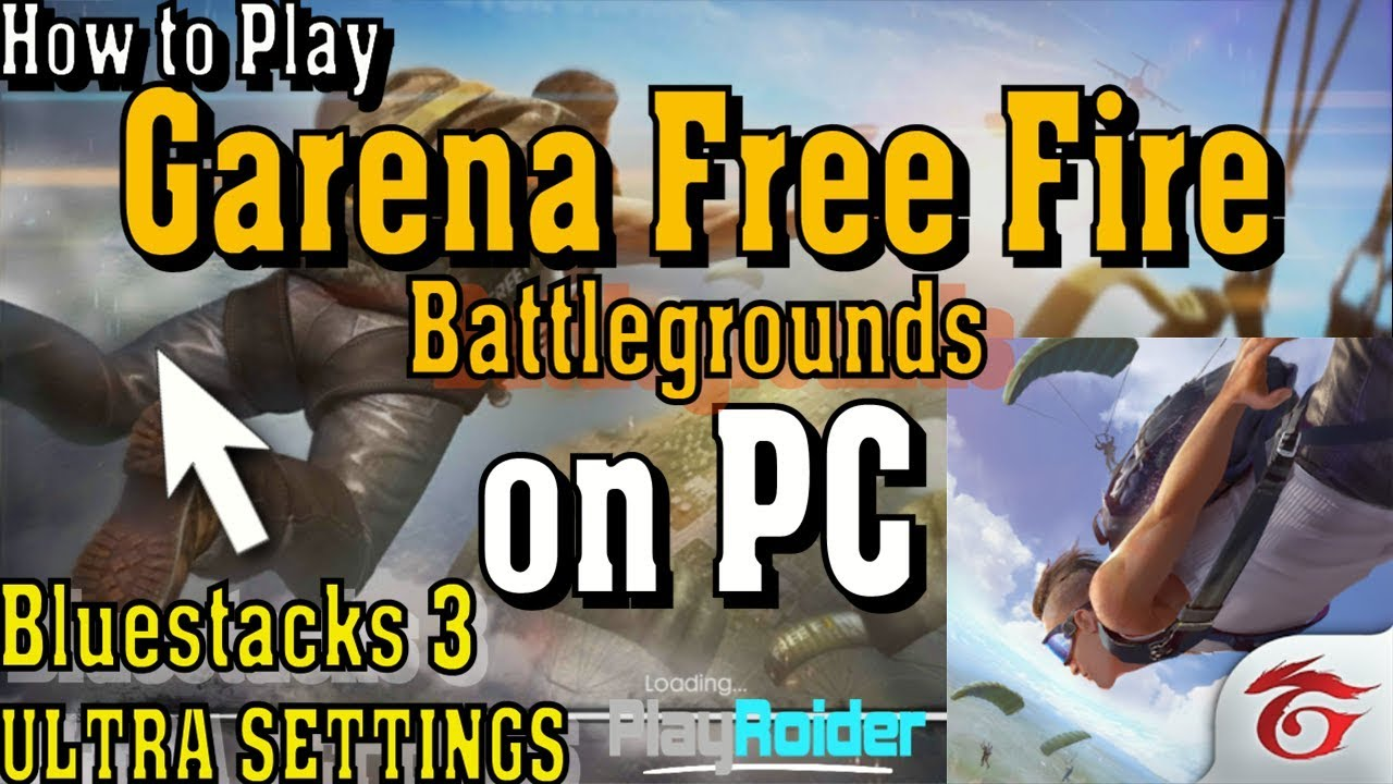 Play Garena Free Fire on PC Mouse + Keyboard (100% Working)