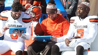 Tyrod Taylor still leading Browns despite being benched thumbnail