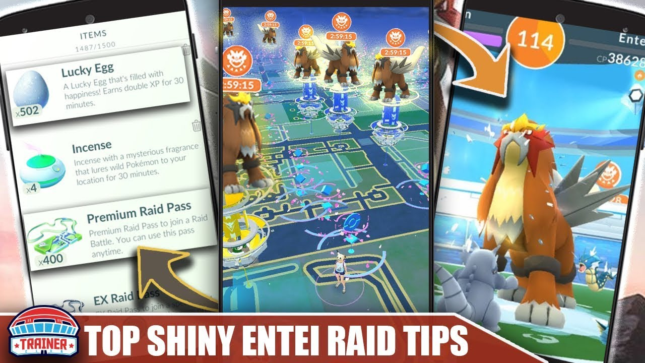TOP 5 TIPS for SHINY ENTEI DAY!! MAX RAID QUANTITY, STARDUST, LUCKIES & XP  RAIDS   Pokemon Go