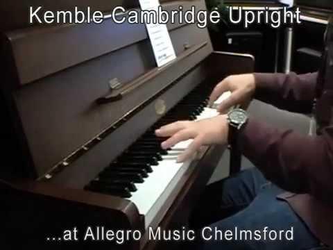Kemble Cambridge Upright - Allegro Music Chelmsford