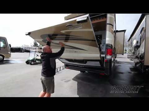 2015 Newmar Canyon Star 3921 Toy Hauler Class A Motorhome • Guaranty.com