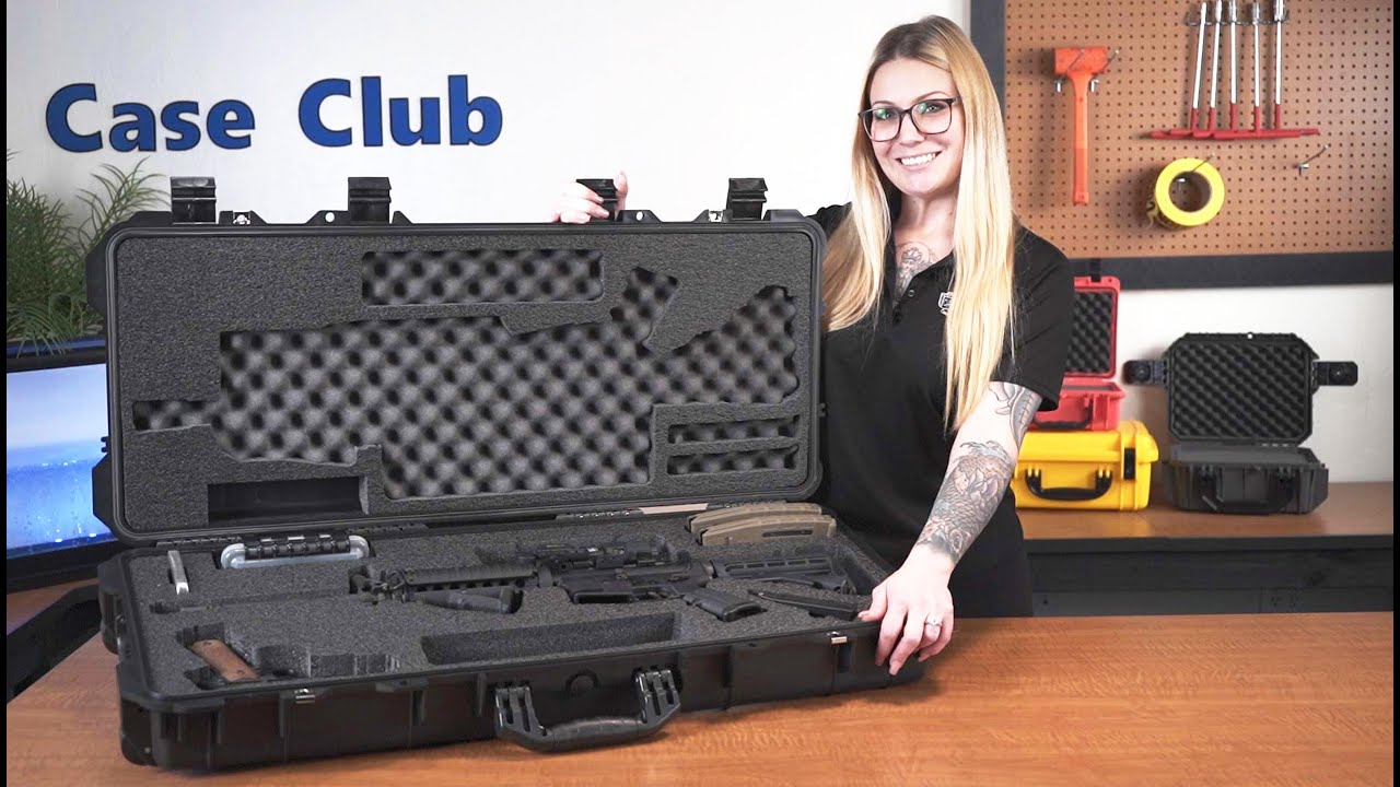 Case Club AR15 Rifle Case - Overview - Video