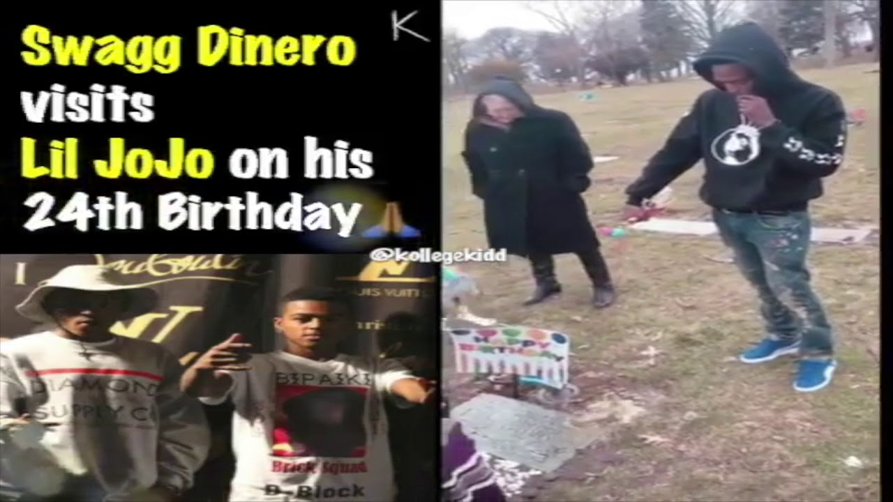 Swagg Dinero Pours Out A Bottle Of Hennessy For Lil Jojo On His 24th