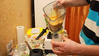 СУПЕР ВКУСНЫЙ тыквенный рецепт смузи в блендере, готовим в китайском аналоге Vitamix