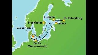 NORWEGIAN GETAWAY Baltic Cruise 2017 - Day 1 Copenhagen