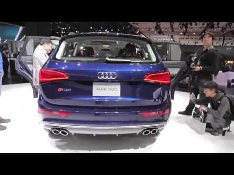 2015 car promotion 2014 Audi SQ5   Exterior and Interior Walkaround   2013 Detroit Auto Show