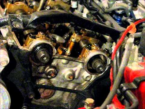 How to Replace a Honda Prelude Timing Belt - 6 of 12 - Cam ...