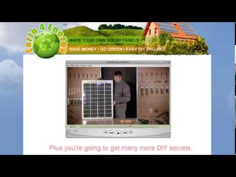 Earth 4 Energy – make solar panels with Earth 4 energy