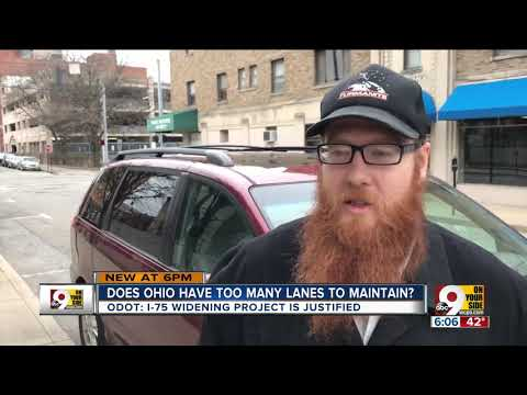 Does Ohio have too many lanes to maintain?