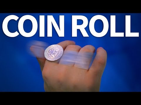 How to roll a coin around fingers | FREE TUTORIAL