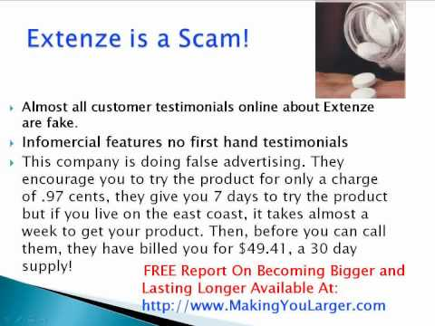 Extenze Directions For Use