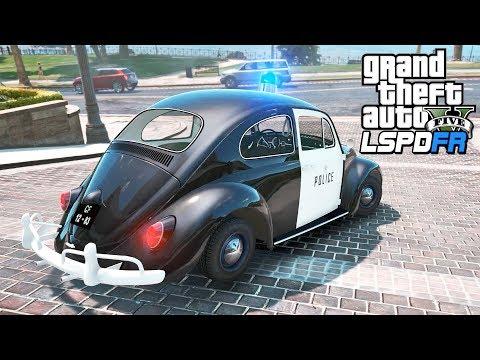 GTA 5 - LSPDFR Ep537 - Old School Police Beetle!!