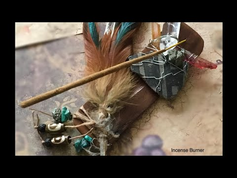DIY Incense Holder