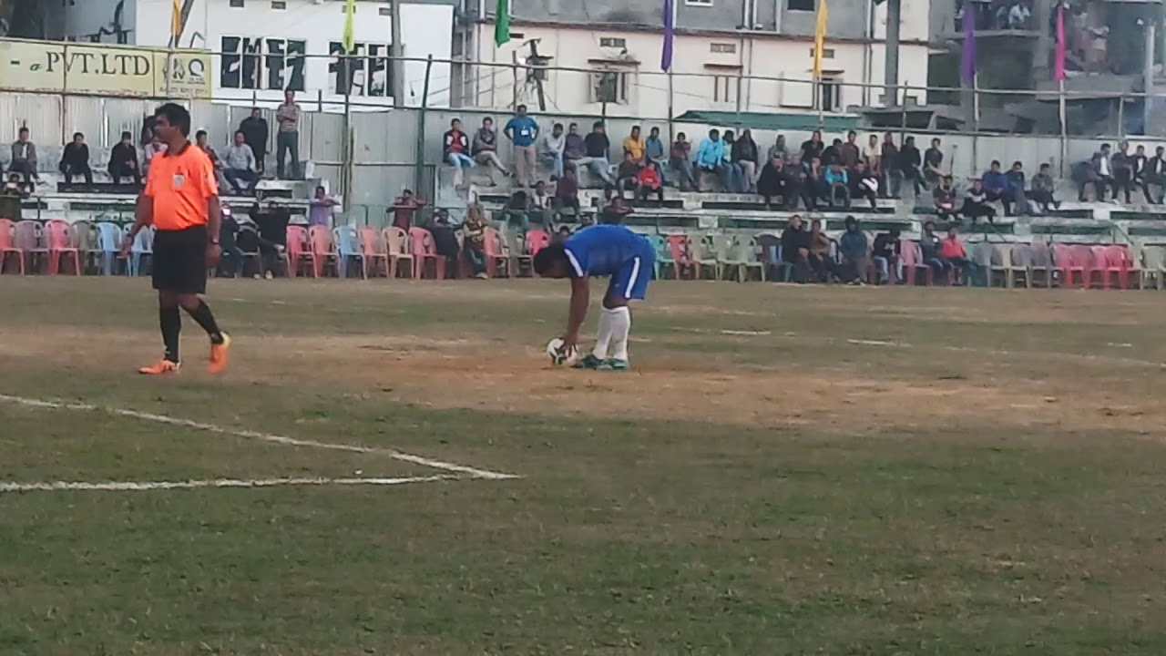 Killa Borok.A vs Y. Darlong.A Football Padmajung B.B.I Playground Dharmanagar23.01.2019