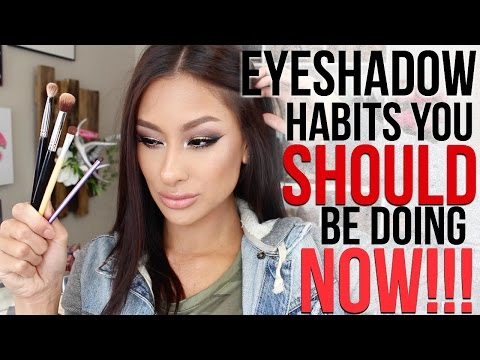Eyeshadow Habits you SHOULD be doing NOW Tips for PERFECT eyeshadow every time