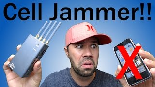 Cell Phone JAMMER Review!! | Disable Phones Instantly!
