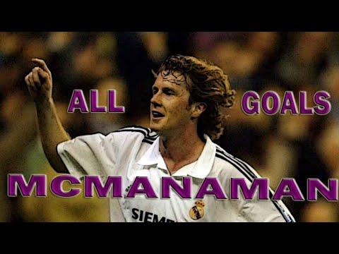Steve McManaman -All Goals -Real Madrid C. F -1999-2000-2001-2002-2003